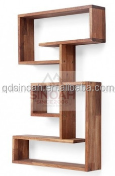 new living room furniture oak wooden wall unit bookcase - buy wall