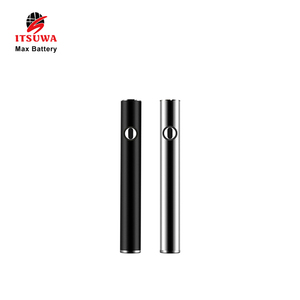 2018 Itsuwa Ecig Max Battery 510 Thread Max 380mah Cbd Vape Pen Preheating Battery