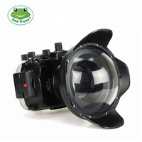 Seafrogs WA-005E (WA-5) 67mm Wide Angle Dome Port for Meikon A7 Mark II housing and Seafrogs GH-5 housing
