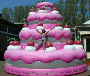 Cool Advertising Inflatable Cake Giant Inflatable Birthday Cake For Birthday Cards Printable Inklcafe Filternl