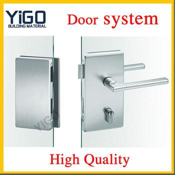 High Quality Stainless Steel Glass Door Locks For Hotel Sliding Door