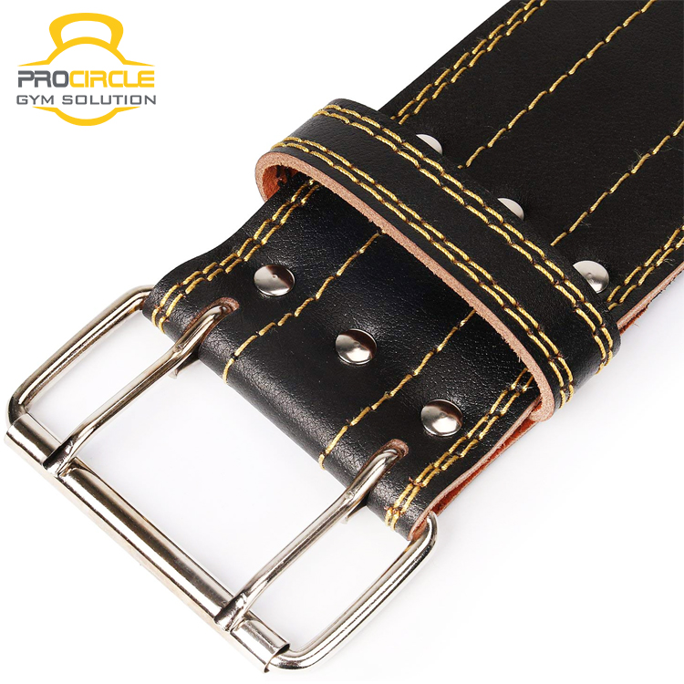Professional Training Leather Weight Weightlifting Belt