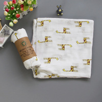 Muslin Blanket Pure Cotton Bath Towel Cart Seat Cover Blanket Swaddle blanket