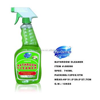 740ml Bathroom Cleaner Liquid Mould Magic Trigger Spray