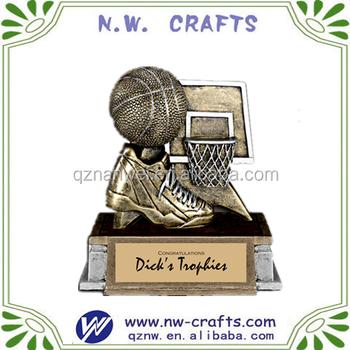New Design Basketball Sport Champion Trophy Award Souvenir,Resin  Trophy,Art,Craft - Buy Basketball Trophy Award,Trophy Award  Souvenir,Military Awards