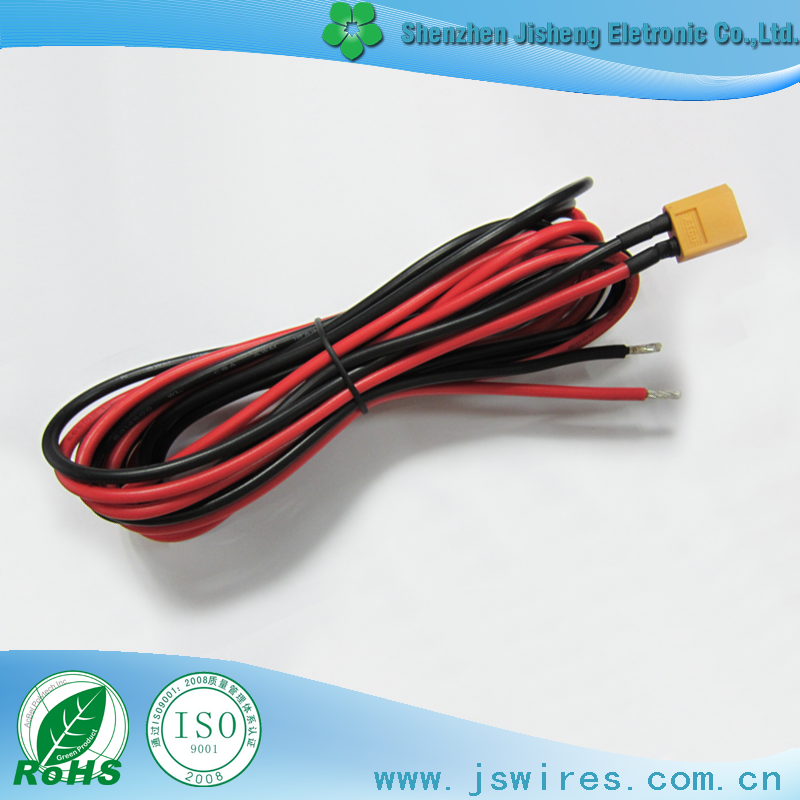 Shenzhen factory custom XT60 to open 12AWG 12awg wiring harness diagram wiring diagrams for diy car repairs Wiring Harness Diagram at creativeand.co