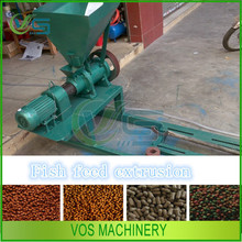 China supplier animal feed extruder machine/floating fish feed pelletizer for sale