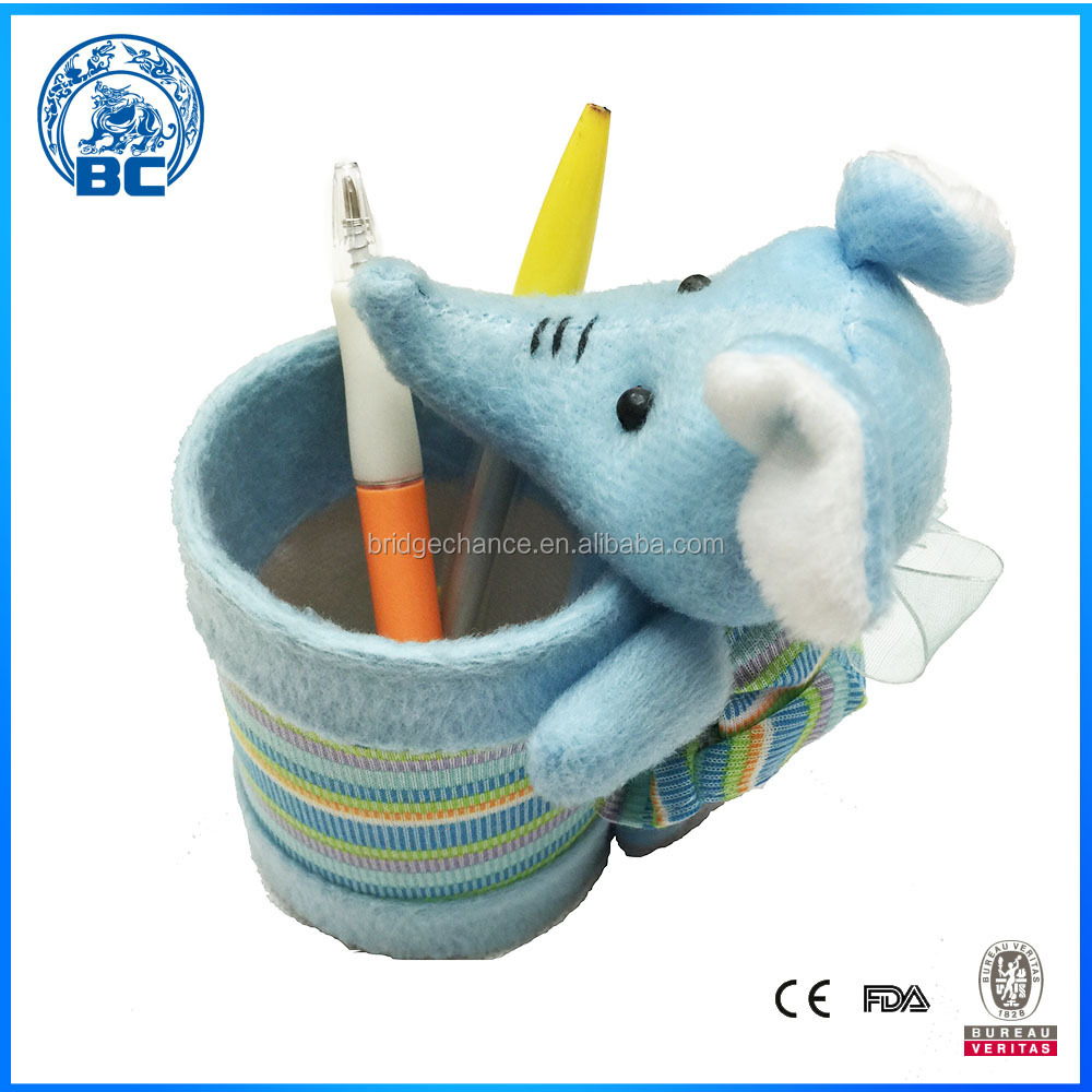 Mouse Plush Toy Pen Holder Animal Pen Holder