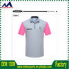 Wholesale customize high quality sublimation printing T-shirts polo shirts