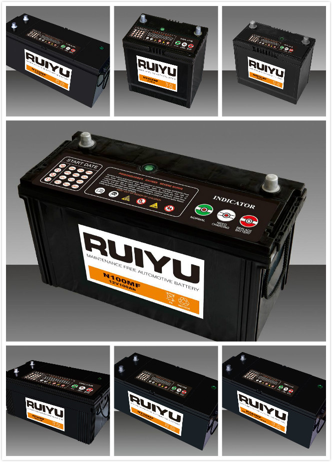 Competitive Price China Supplier Automotive Lead Acid Battery/car ...