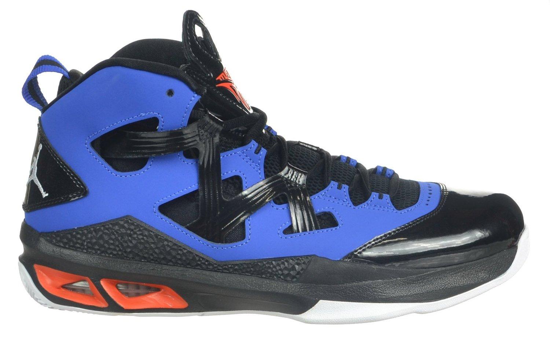 low priced 62341 f56ba Jordan Air Melo M9 Carmelo Anthony Men s Shoes Black Blue Orange