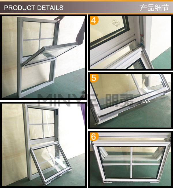 Aluminum vertical sliding window design american style for American window design