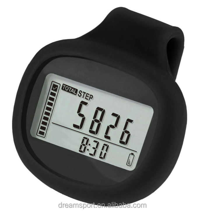Best Selling Pocket Pedometer Step Counter Walking Distance Calorie Counter with Large LCD Display