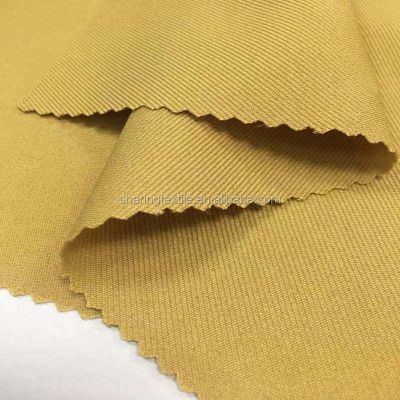 Eco-friendly 100%RPET Recycled Polyester 300D*300D Diagonal Twill Gabardine Fabric For Overalls,Hats Fabric