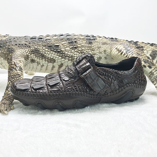 1 men crocodile High 100 shoes leather quality MOQ leather genuine real PCS 4xPw4qCg