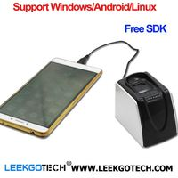 LEEKGOTECH Patented android biometric usb fingerprint reader For Windows Android Linux OS