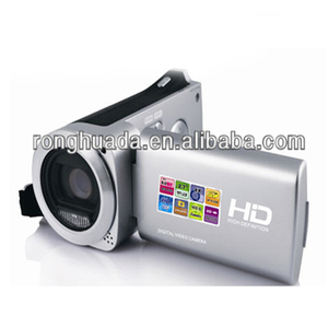 "HD 720P dvc digital video camcorder camera with 8MP,2.7""TF screen, 4x digital"