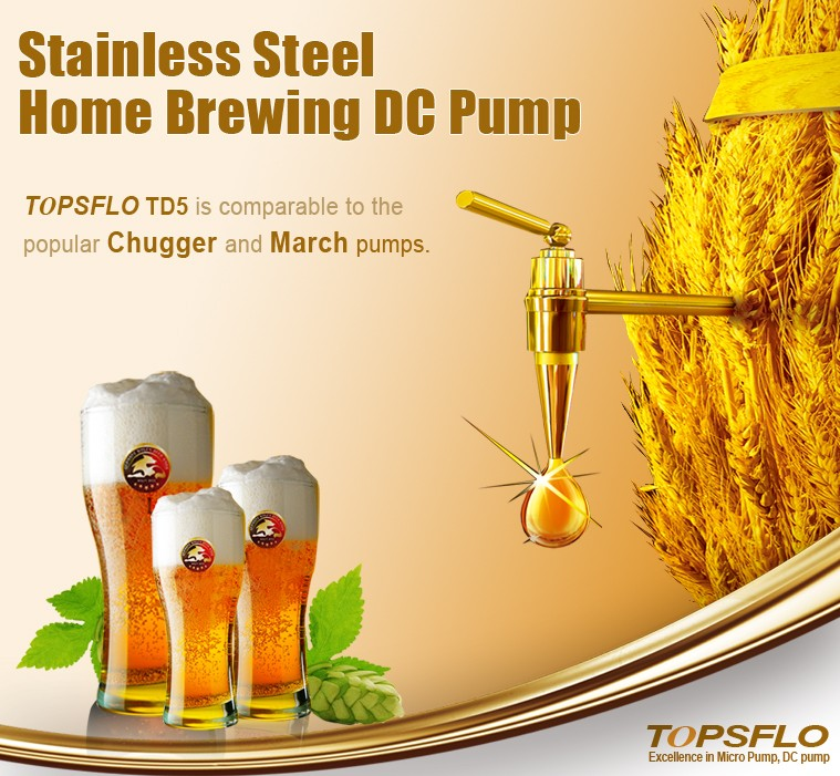 10Bar~20Bar Stainless Steel beer brewing pump manufactured in China