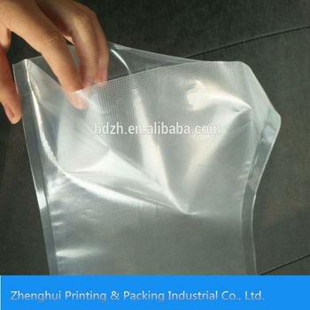 Manufacturer Customized Embossing Food Grade Nylon Ldpe Vacuum Plastic Bag