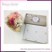 Wholesale High quality empty eye shadow palette eyeshadow cardboard box