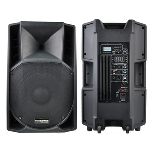Accuracy Pro Audio CSW15AMXQ-BT 15 Inch 180W Professional Active Powered Active Speaker