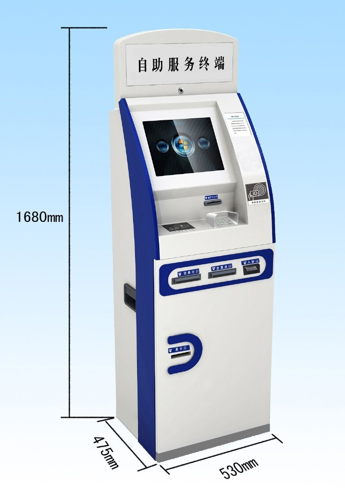 Easy control self service bill payment kiosk factory supplier price