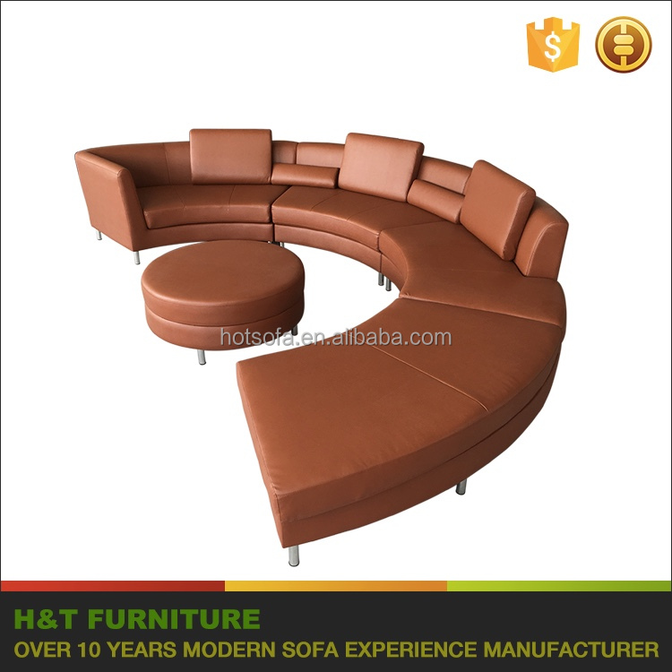 Salon Round Couch Sofa Seater Modern Sectional Furniture Sofa - Modern salon furniture