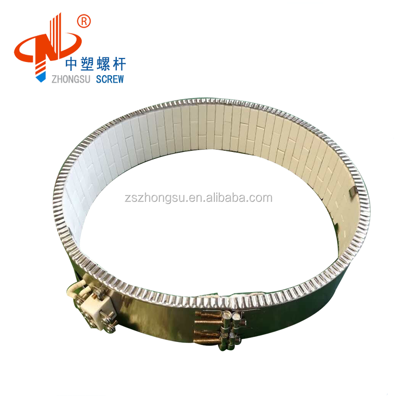 Factory direct sell ceramic band heater for plastic extruder machine