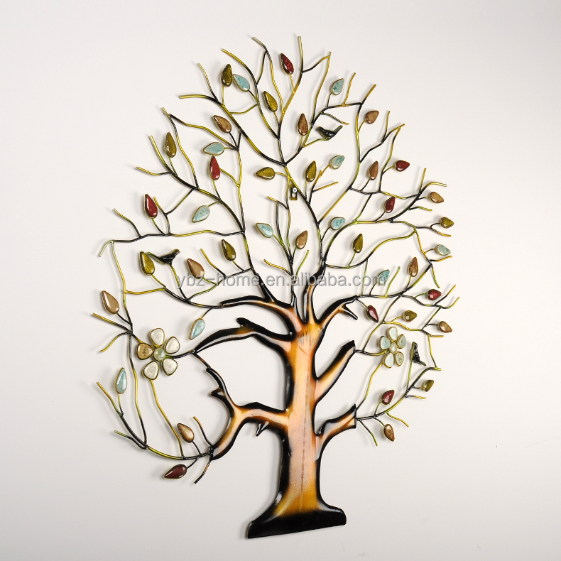 2014 Sebtember New Prodcut Metal Wall Decor Multicolor Money Tree ...