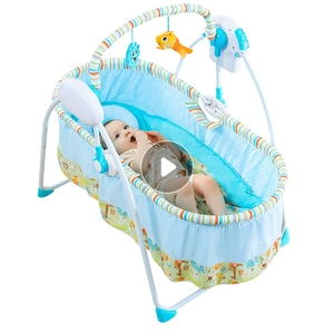 2018 new products baby furniture baby swing rocking crib it can adjust baby bed