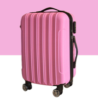 guangzhou factory new arrival ABS travel 3pcs 4pcs trolley luggage