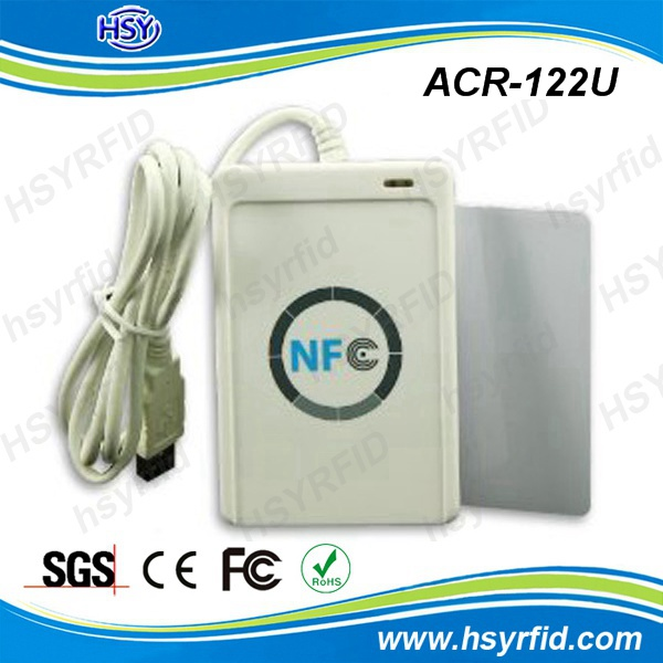 ACR122U 13.56Mhz USB rfid & nfc writer and reader with high quality