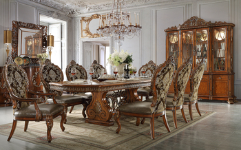 Italian Royal Style Wooden Hand Carved Dining Room Furniture Set With  Matching Dining Chairs(moq=1 Set) - Buy Italian Royal Dining Room  Set,Luxurious ...