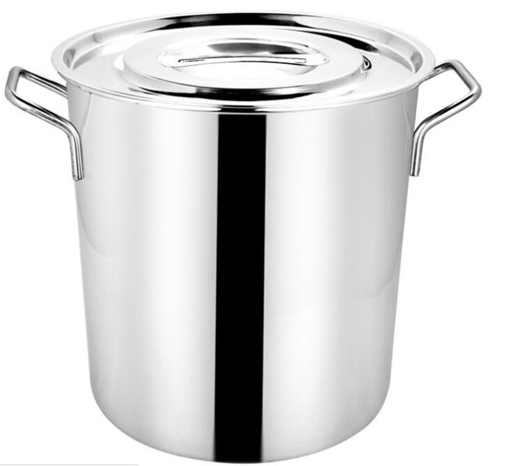 Stainless steel 100L big size cookware pot stock pot