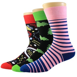oem customized wholesale man's dress socks for business in stock