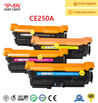 chinese supplier Free Sample toner cartridges CE250 for HP with toner chip