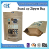 Heat seal zipper coffee bag flexible packaging printing plastic packaging zipper bag