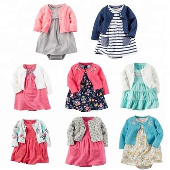 Kinderkleding Babykleding.12 2 Guangzhou Mooie Stijl 2 Stks Babybodysuit Kleding Sets Vest 100