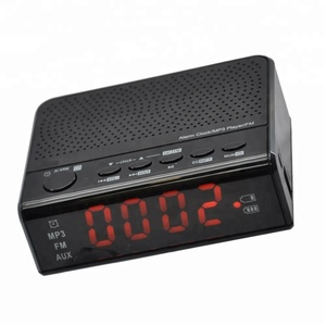 Wireless Speaker FM radio Alarm Clock with USB