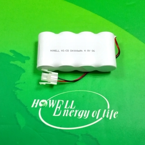 CE Approved High temperature D type 4000mah battery packs 4.8v nimh nicd