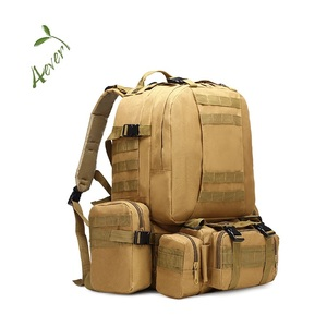 Military Tactical Army Molle Backpacks 3 Day Assault Pack Bug Out Bag Rucksacks for Outdoor Hiking Camping Trekking Hunting