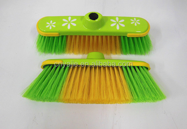 hand style broom house cleaning,factory direct sale durable plastic broom,plastic material