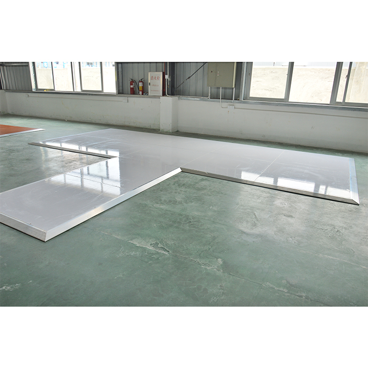 Portable High Gloss White Dance Floor Seamless Wedding Wooden dance floor