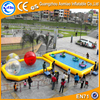Giant inflatable pool slide for adult inflatable pool islands for sale
