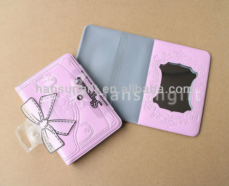 pvc passport holder