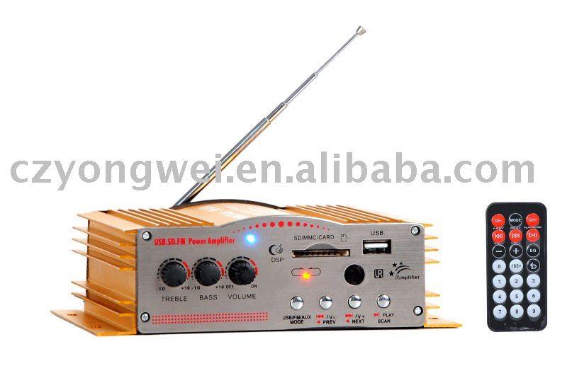Usb Sd Mp3 Car Audio Mini Amplifier