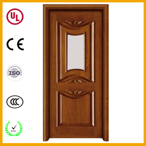 Lowes price hot selling home interior pine wood flush door with wood door jamb