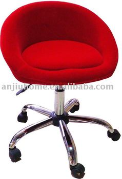 Modern Bar Chair /bar Stool With Wheels/quality Fabric Seat Bar Stool/height