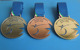 Eger IWAS Wheelchair Fencing World Cup 2016, Gold/Silver/Copper Sport Award Medals for Souvenir