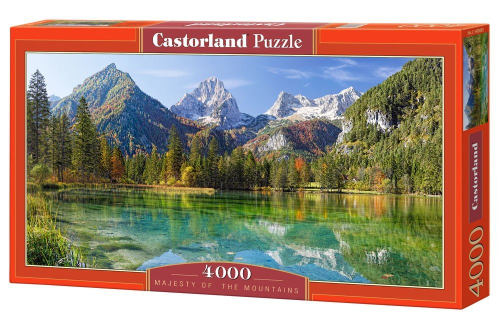 Cheap 4000 piece puzzle find 4000 piece puzzle deals on line at get quotations majesty of the mountains 4000 piece by castorland puzzle gumiabroncs Images